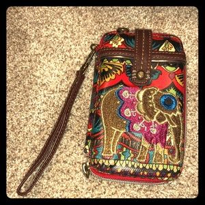 Sakroots Phone Wristlet! Great Condition